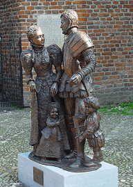 Willem van Oranje standbeeld
