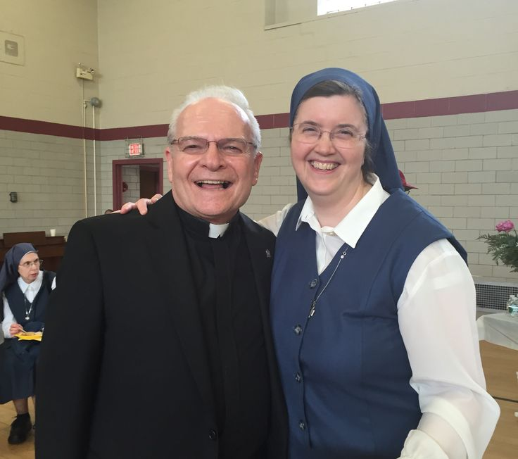 Brother Joseph and Sr. Kathryn James.