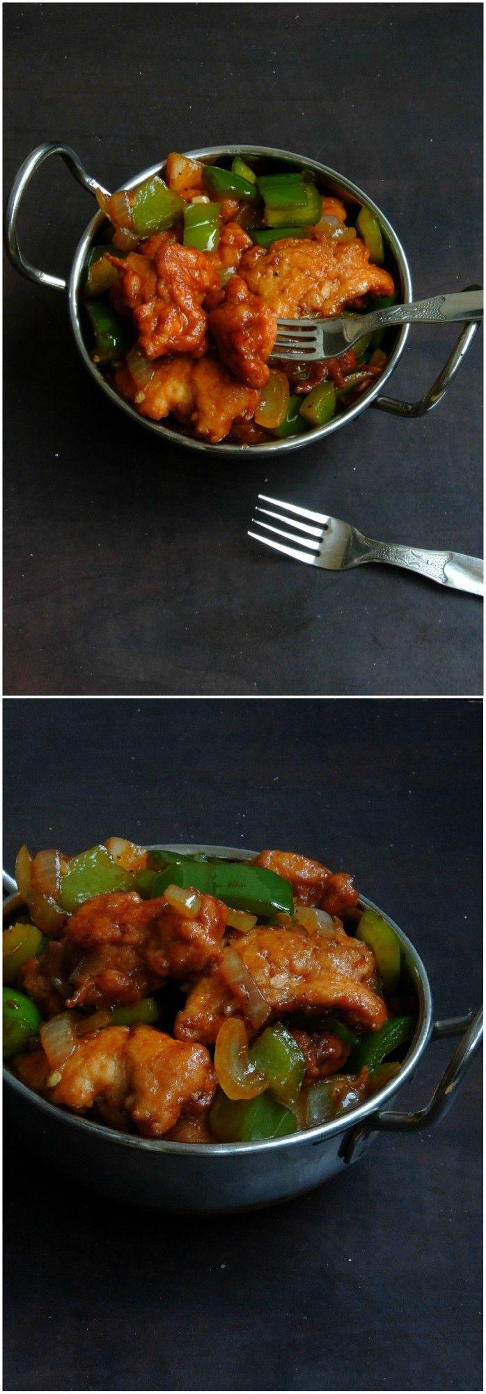 Cauliflower Manchurian/Gobi Manchurian