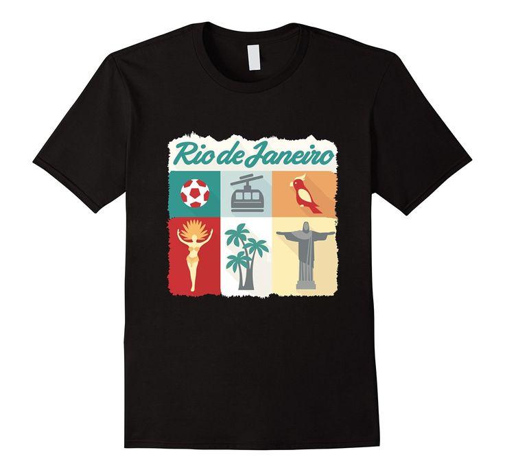 Visit Rio de Janeiro T-shirt #magazindefashion