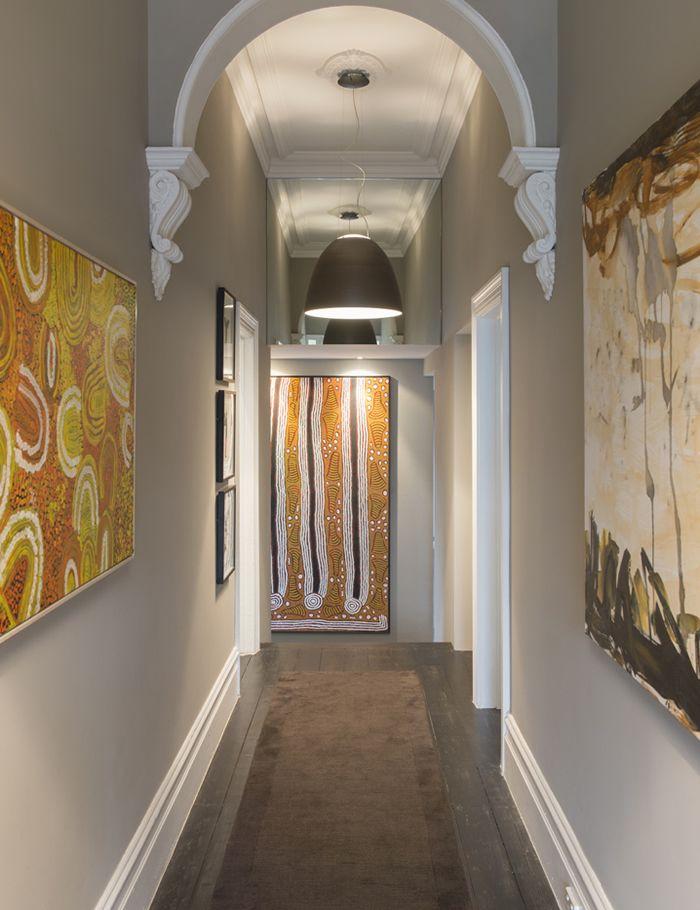 prahran entry hall with aboriginal artwork