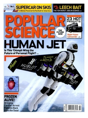 Front cover of Popular Science Magazine: February 1, 2009