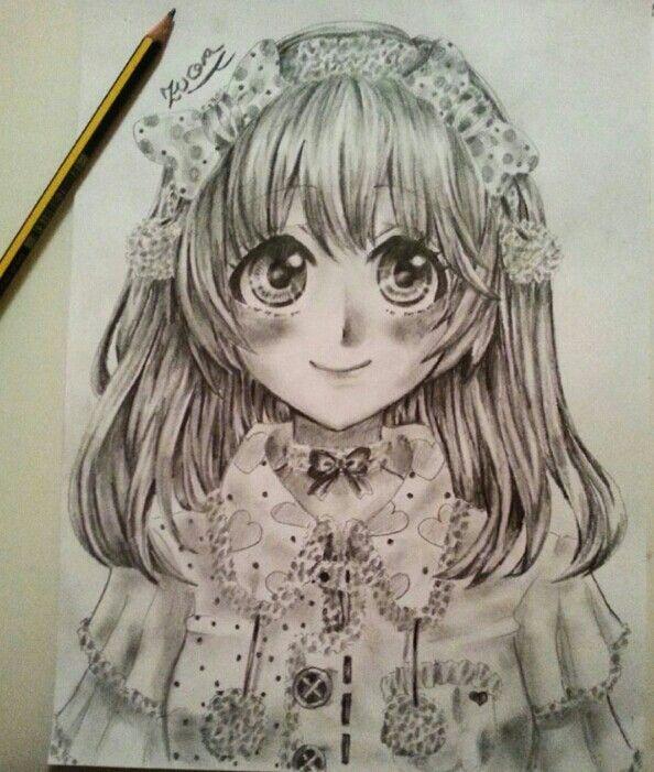 Hiyori zeichnung
