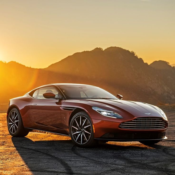 """Aston Martin di Instagram """"The first of our Second Century cars, DB11 signified …"""