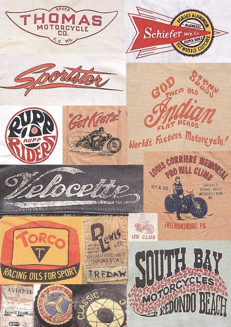 Mens Collections: Vintage Biker Graphics