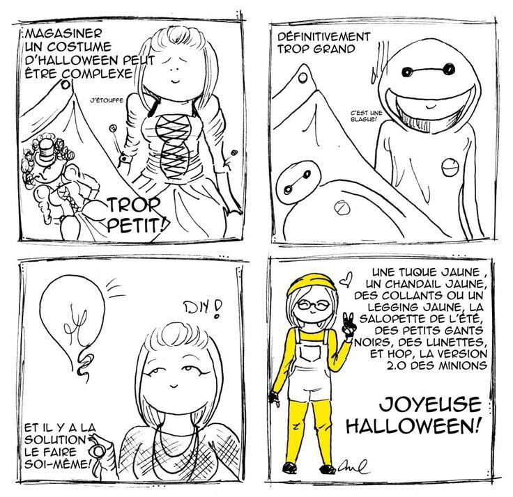 BD du mois: L'Halloween sans complexes | Joelle Vaillancourt