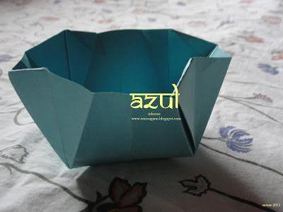 Zen Origami: AZUL II ( para Aldos Marcell)