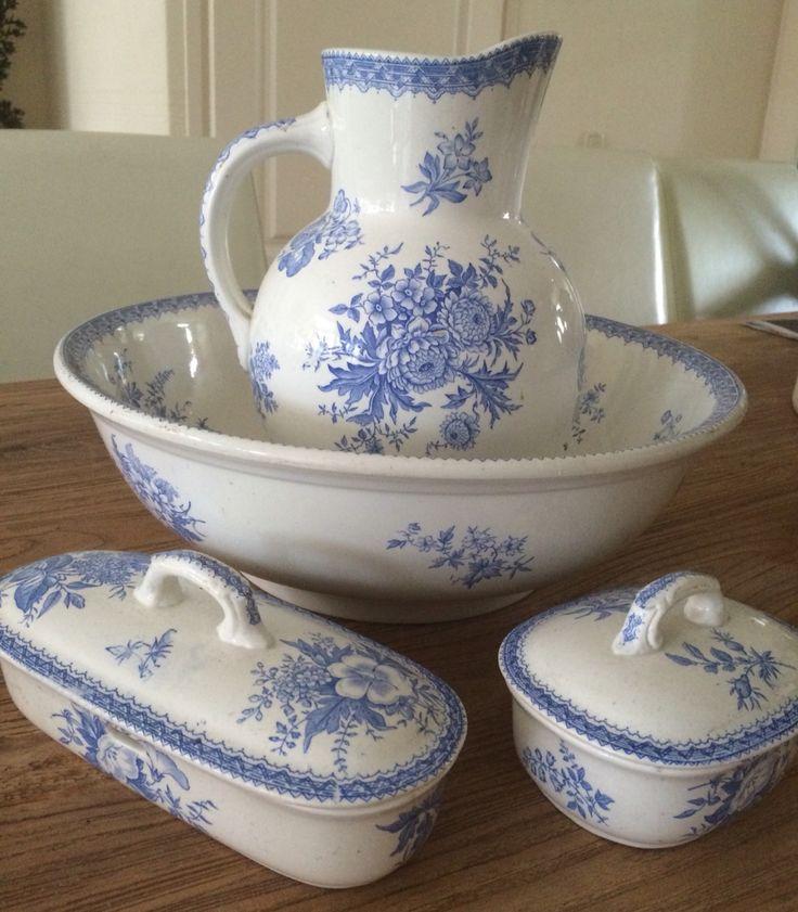 Sociëte ceramique decor dahlia