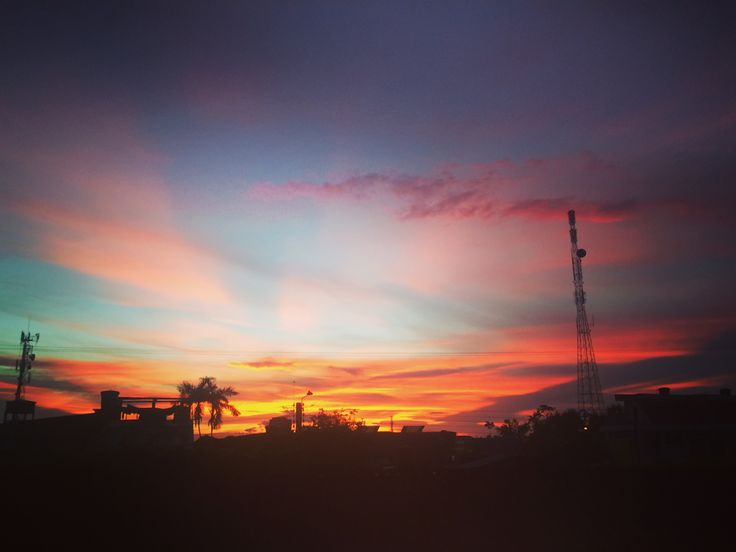 Cielo Amazonense. #Dios