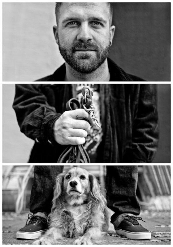 For his photos series 'Triptychs of Strangers', Germany-based street photographer Adde Adesokan takes photographs of strangers and creates w...