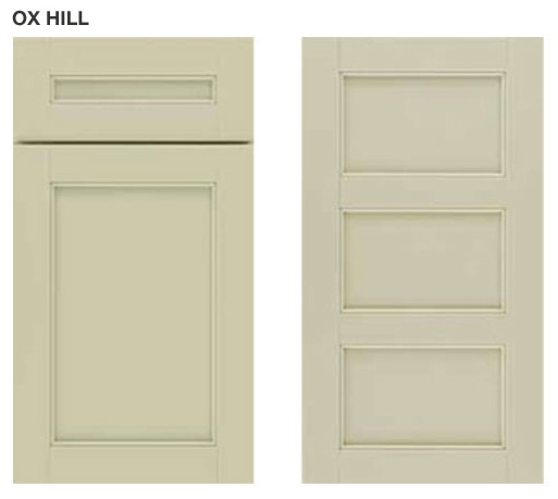 Spruce Up Your Kitchen With These Cabinet Door Styles: Ox Hill Martha Stewart Cabinet In Beach Sand
