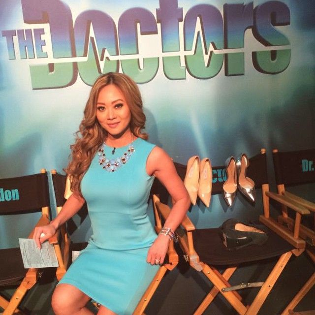 Fun day at work #thedoctors