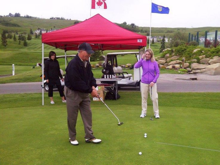 "George's Cream sponsors Air Canada ""Dreams Take Flight"" Charity Golf at the Links Of Glen Eagle Resort in Cochrane, Alberta"