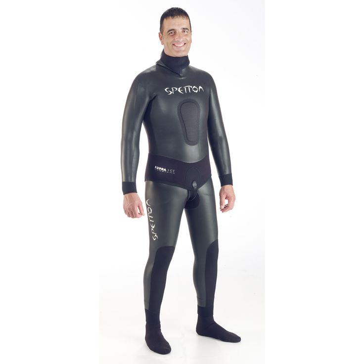 Traje chicle Spetton Supra SCS, con neopreno adaptable. Comprar traje chicle online para pesca submarina. Venta de trajes Spetton baratos online Espesca.es