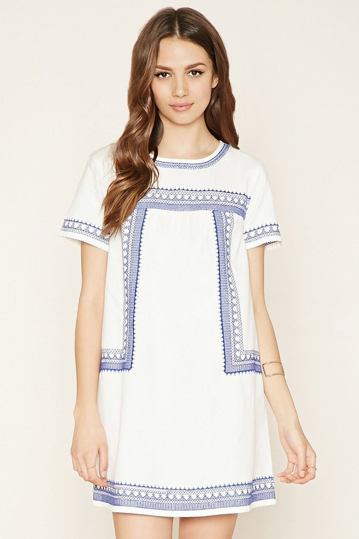 Contemporary Embroidered Dress