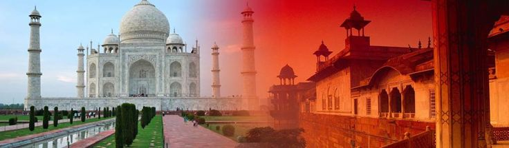 Awesome Places Taj Mahaj - Seven Wonders of the World and visit blog at Fli-ghts.com