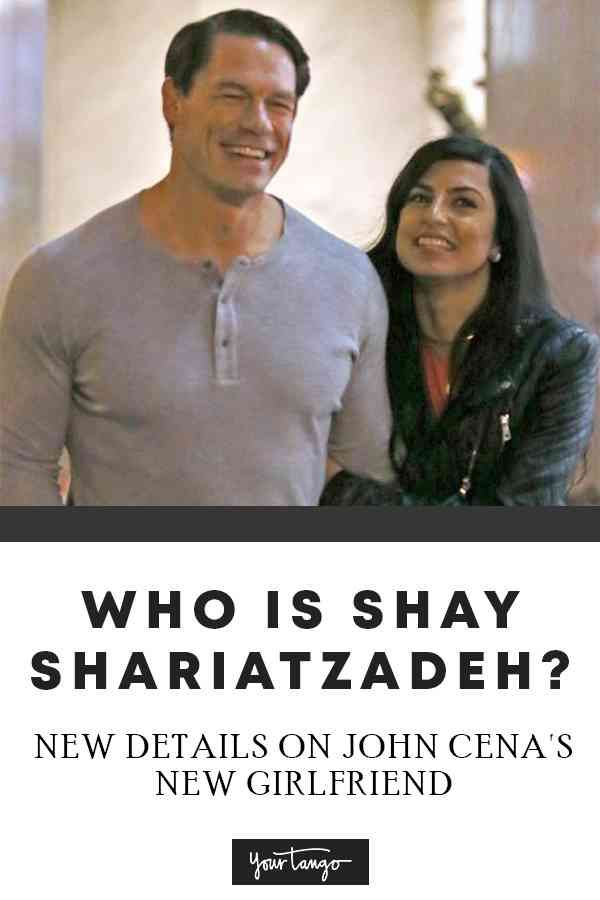 Who Is Shay Shariatzadeh Everything You Want To Know About John Cena S Girlfriend Including Whether They Re Engaged John Cena John Cena And Nikki Shay