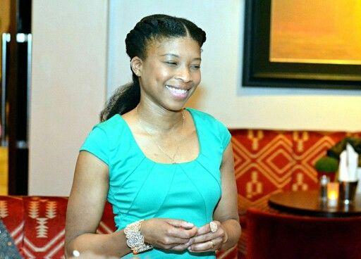 Guest speaker Alicia, founder of @afrodeity_ltd looking radient!
