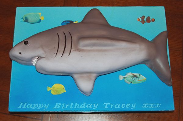 Anyone fancy a shark cake?  Well someone did and AceofCakes.tv rose to the challenge and created this pleasant looking fellow!  You can find AceofCakes.tv in Bromsgrove, Worcestershire if you fancy a bite of shark :-)