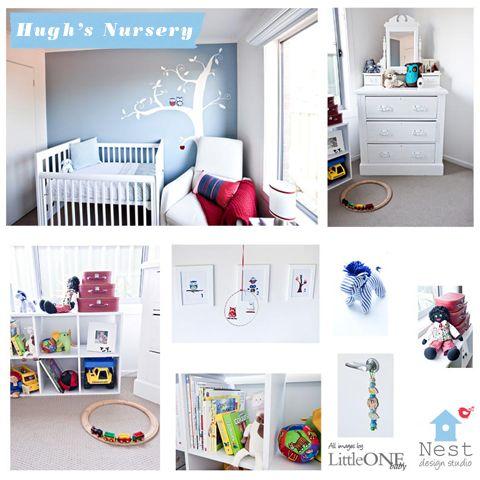 Hugh's Nursery by Nest Design Studio | Chic Mother & Baby Blog {daily}