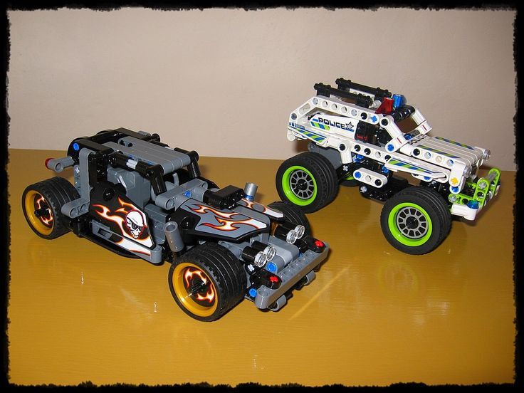 creation from LEGO building kit (LEGO TECHNIC)