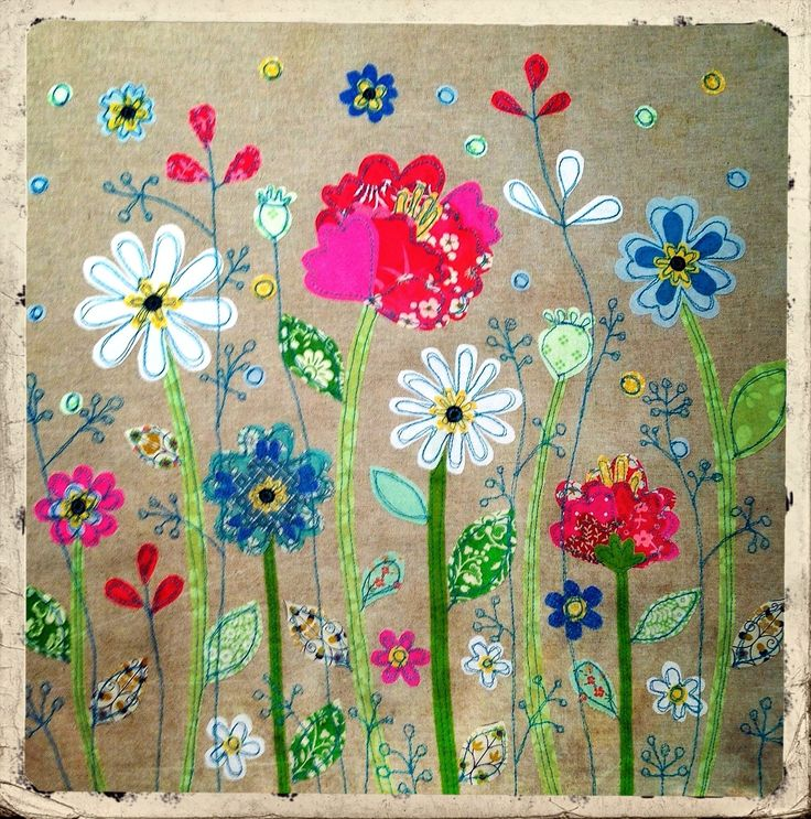By lucylevenson www.lucylevenson.com Appliqué picture