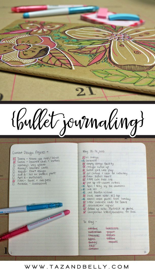 I'm abandoning my planner in favor of lists. Why I Bullet Journal.