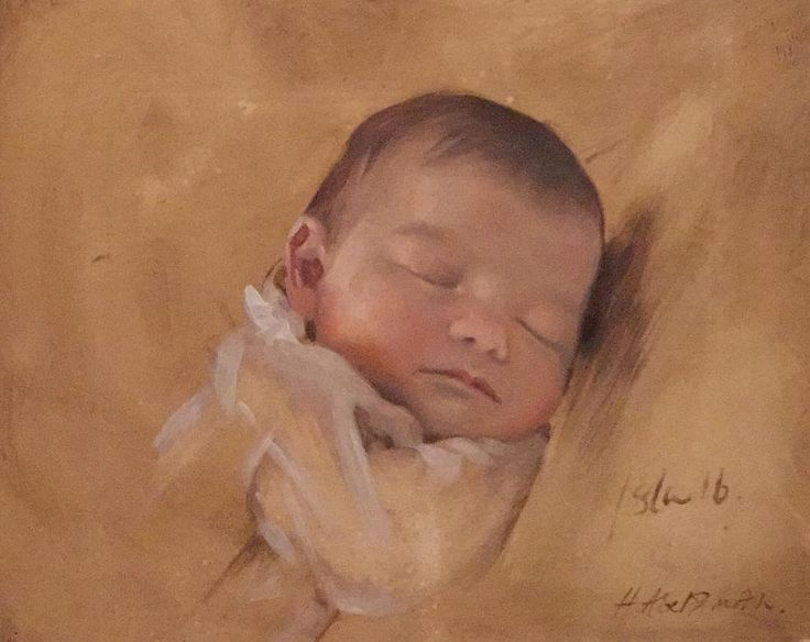 Latest addition to the family, my beautiful niece Isla 😍 the artist is Henrietta Abel Smith