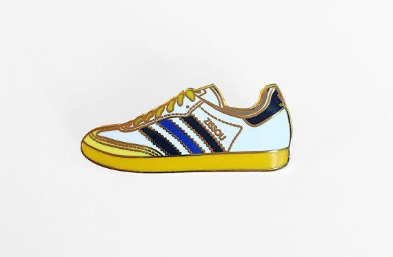 Zissou Adidas Enamel Pin  The Life Aquatic with por SleepyMountain