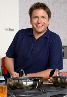My favourite celebrity chef, James Martin. Born the same year, from the same county, talented and funny too. Plus he likes his food and women to look like women - what a great guy, you just have to love him as a celeb chef!