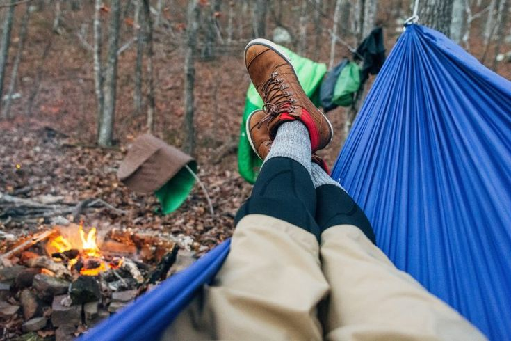 A hammock is an awesome outdoor gear item to have with you. Whether you are out hiking or camping, or as part of your survival kit, take one with you! This product makes camping and