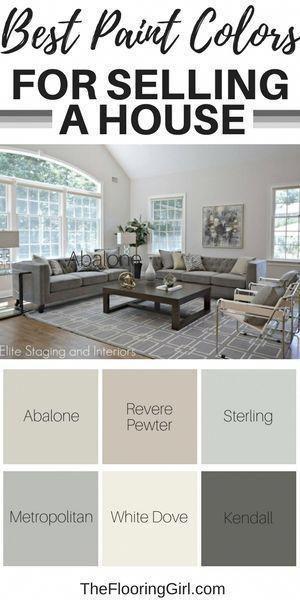 best paint colors for selling a house paint colors shades rh pinterest com