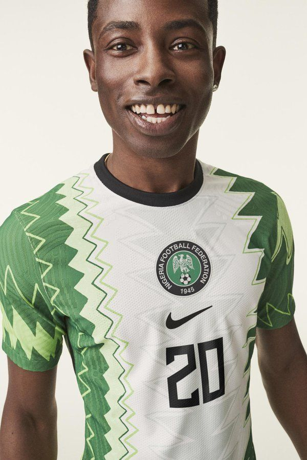 Nike Unveils New Super Eagles Kits For 2020 In 2020 Football Outfits Nike Football Football Fashion