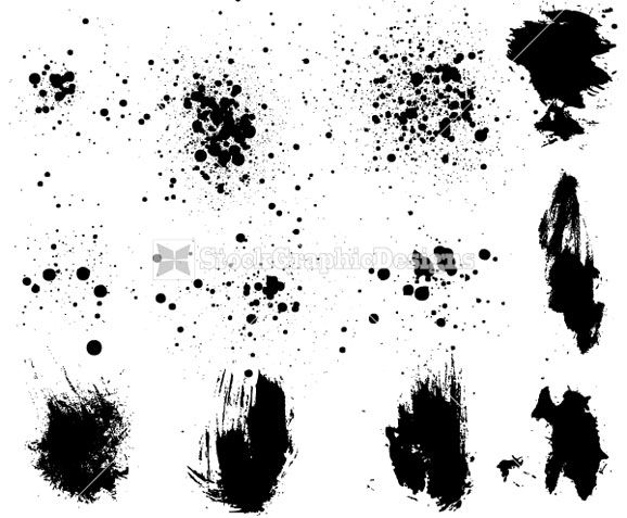 Images of Vector Grunge Paint - #rock-cafe