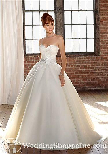 Order a Blu by Mori Lee 4808 Bridal Gown at The Wedding Shoppe today