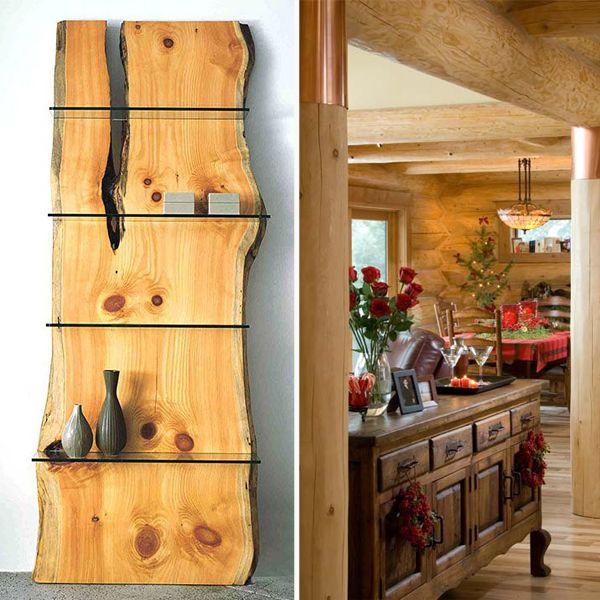 17+ images about Tronco de madeira no Pinterest  Madeira, Buffet de