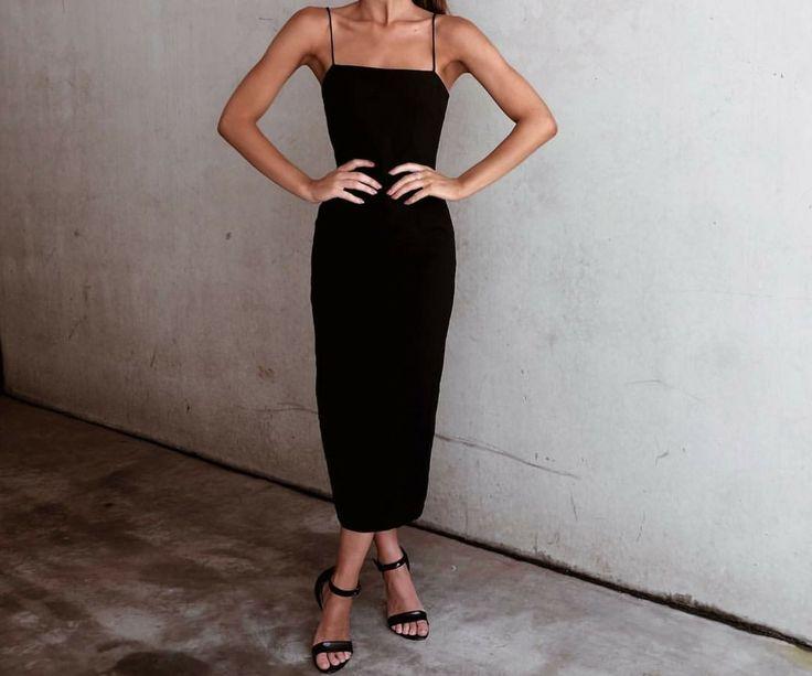 Simple, elegant, classic, chic black dress | jaimekrzos 9