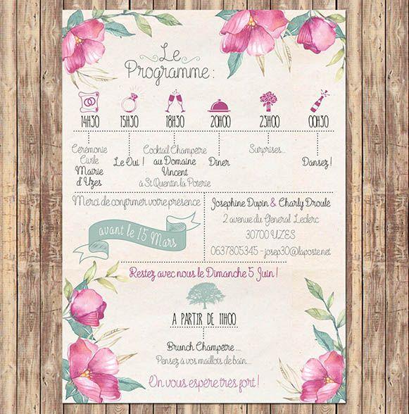 faire-part-mariage-calendrier-fleurs                                                                                                                                                                                 Plus