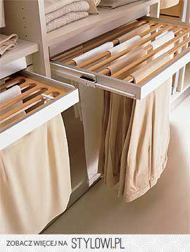 szafa - wieszak na spodnie