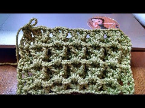 Ponto de Croche Casinha de Abelha - YouTube *Aprendi a poucos dias e achei muito lindo e fácil
