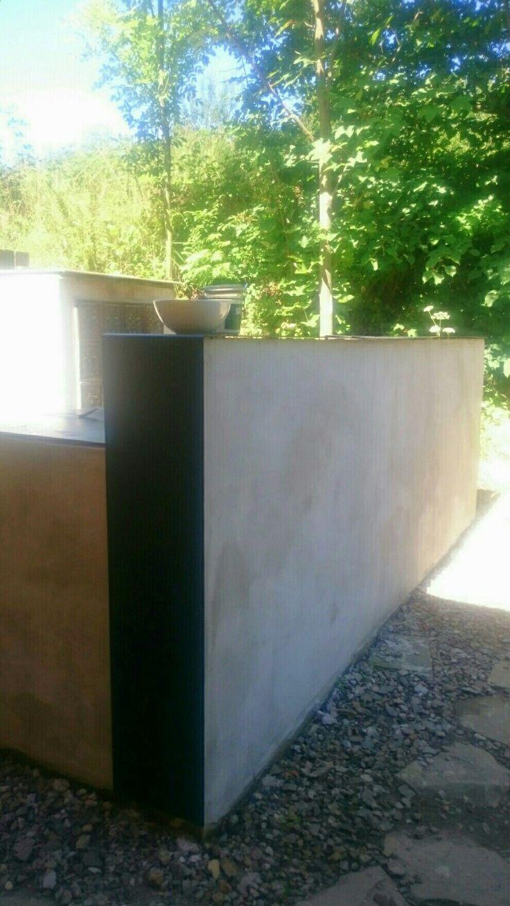 Kuchnia na tarasie w kasinia 116 #projekt kumashdesign kasia szymańska
