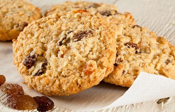High Protein Lower Carb Oatmeal Cookies