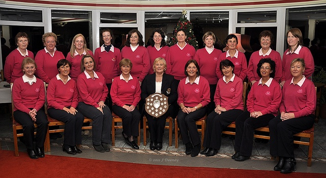 The Kinsale Ladies Team-Winners of the 2011 West Cork Shield. Beating Lee Valley golf club in the final.  Back Row l-r: Siobhan Long,Anna Ward,Niamh Mason,Carol Deeney,Mary McEvoy,Jo Condon, Ann Daly,Mary O'Hare,Clare Butcher,Frances Power,Sarah Dunle  This is not as easy as it looks and get more info here http://golfswingtrainerblog.com