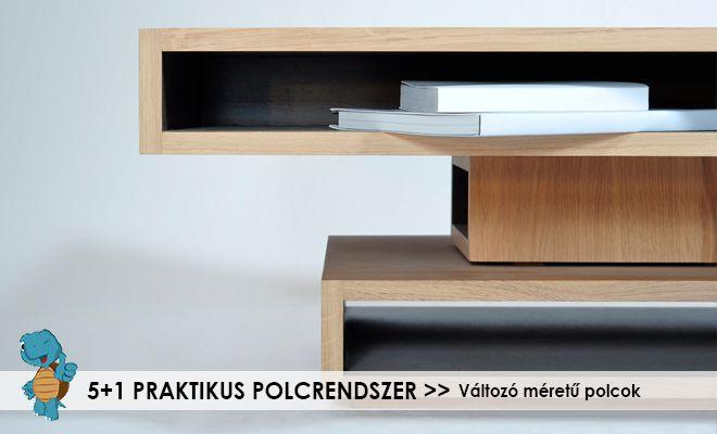 HOVÁ TEGYEM? SEGÍTÜNK!  A polcos szekrények kiváló megoldást jelentenek egy sor tárolási problémára - mutatunk 5+1 praktikus és eredeti ötletet kialakításukra. #bútorosblog #szekrény #polc