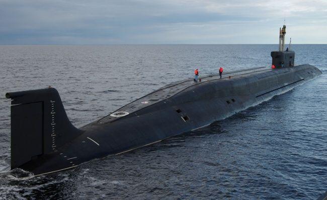 Submarinos atômicos russos invisíveis já são uma realidade