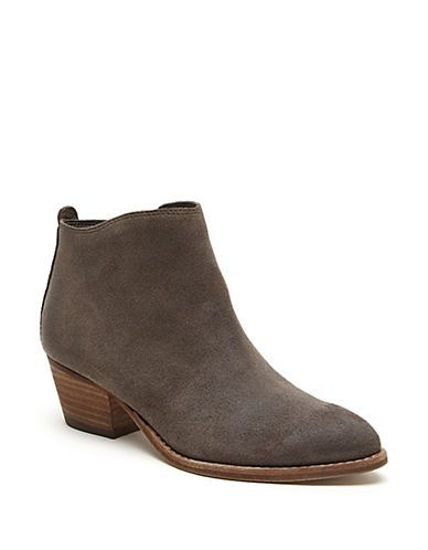 Shoes   Ankle Booties   Slade Suede Booties   Hudson's Bay