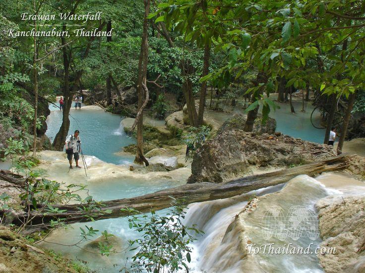 Photos des Chutes d'eau D'Erawan ( Nord Ouest de la Thaïlande ) - Le blog de le russe