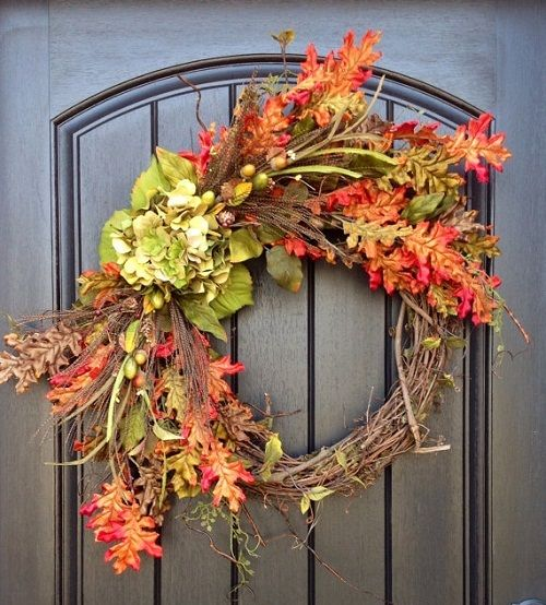 Creative Wreath Ideas: Creative Fall Decorating Ideas For A Grapevine Wreath