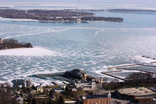 Ice Fishing On Lake Erie – The Thrilling Winter Beauty of Lake Erie Shores & Islands #IceFishing #LakeErie