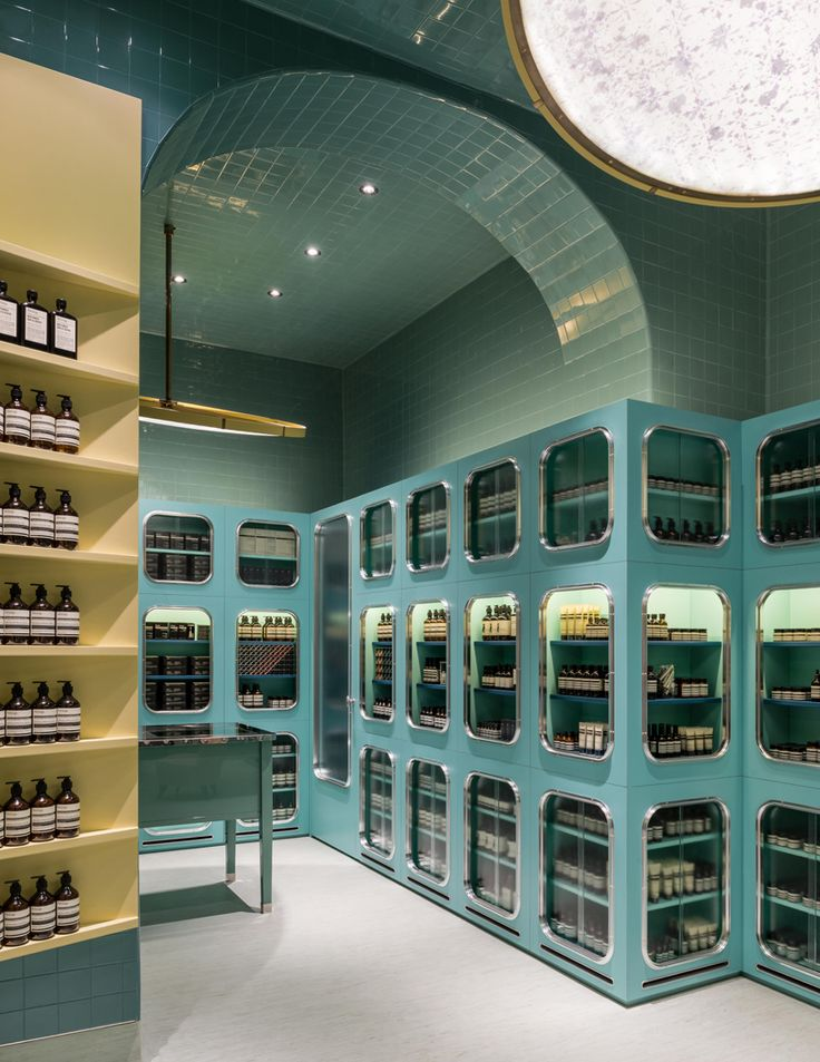 australian skincare brand aesop has established a second store in milan.
